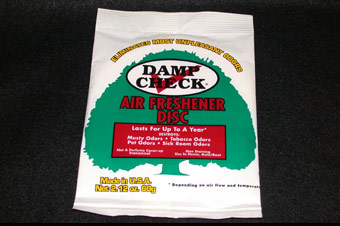 Damp Check Air Freshener Disc