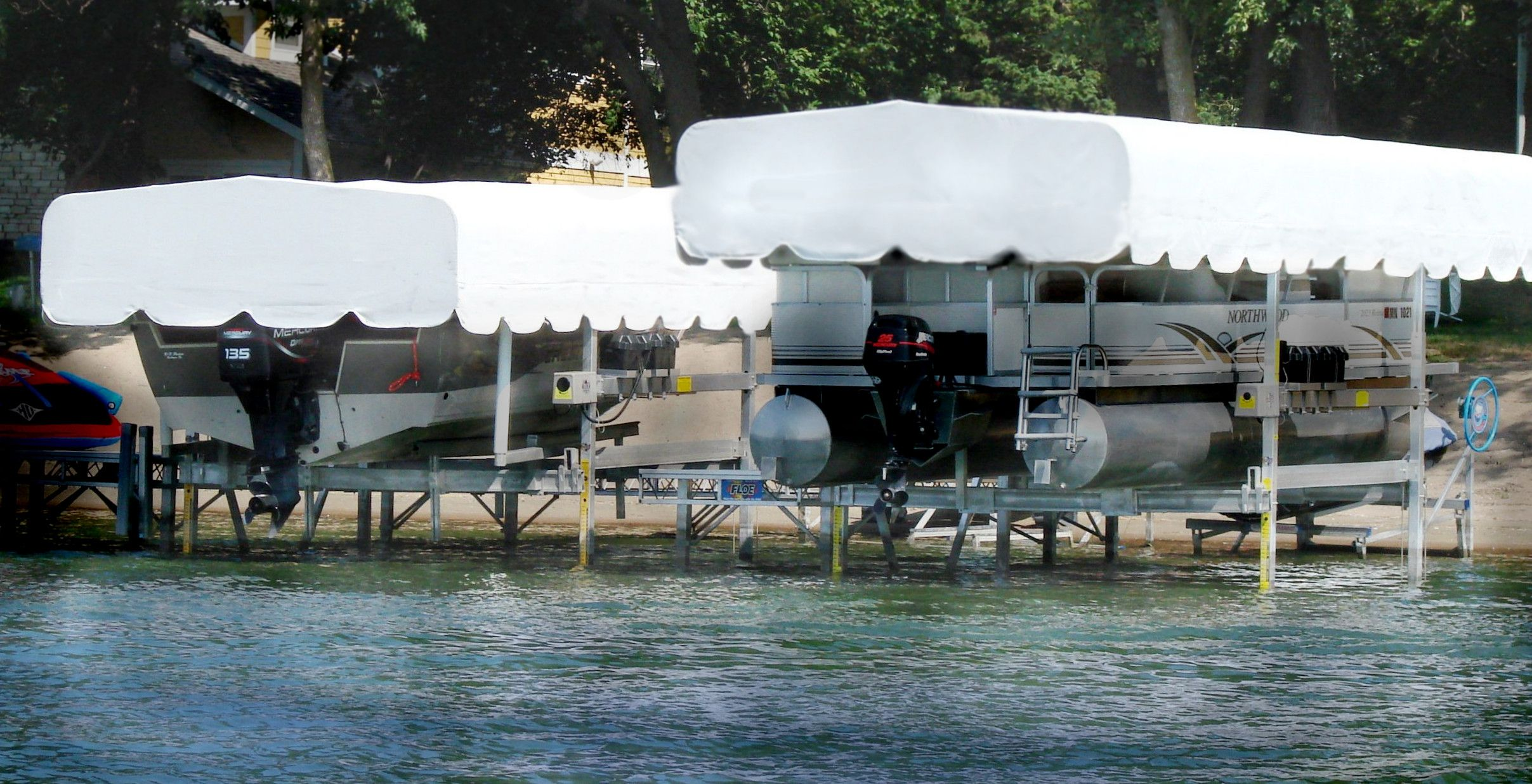 ... Result Pages 1 & Floe Boat Lift Canopies | Boatcovers.com